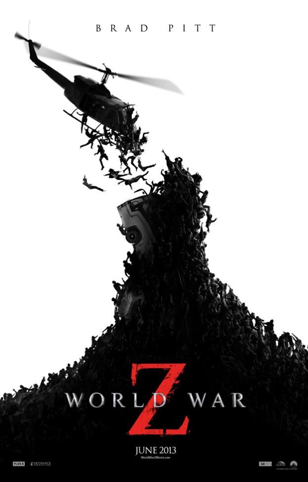 World War Z affiche