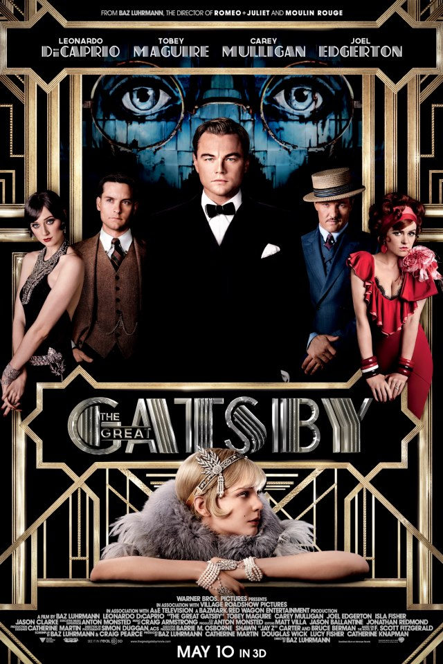 Gatsby le Magnifique affiche