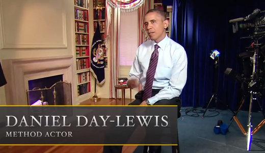 Parodie Obama de Steven Spielberg avec Daniel Day-Lewis