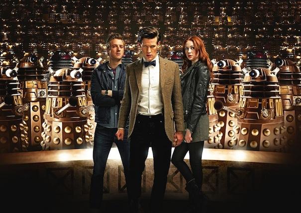 Doctor Who saison 7 avec Matt Smith, Karen Gillan et Arthur Darvill