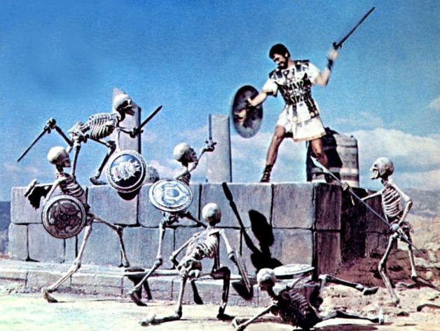 Jason et les Argonautes (1963) squelettes