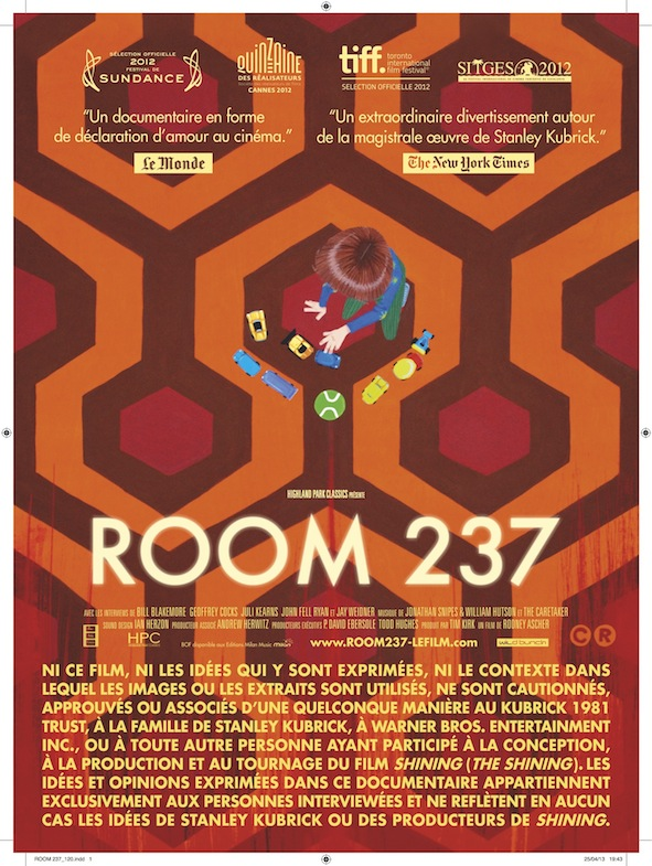 Room 237 affiche