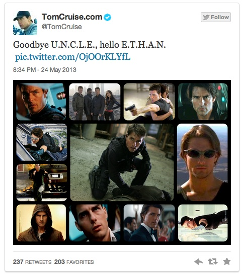 Tom Cruise Twitter Uncle Mi5