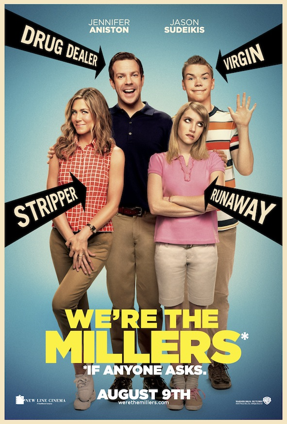 We're the millers affiche