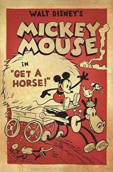 Mickey Mouse 'A Cheval' (Get a Horse)