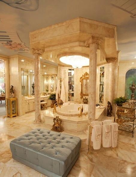 Behind the Candelabra - salle de bain - Photo HBO
