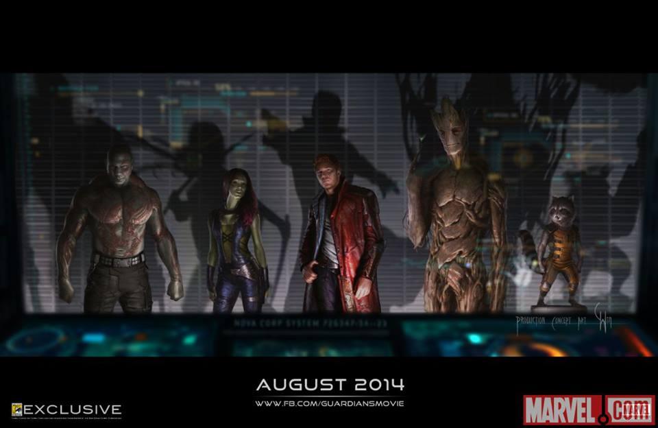 Concept Art Les Gardiens de la Galaxie