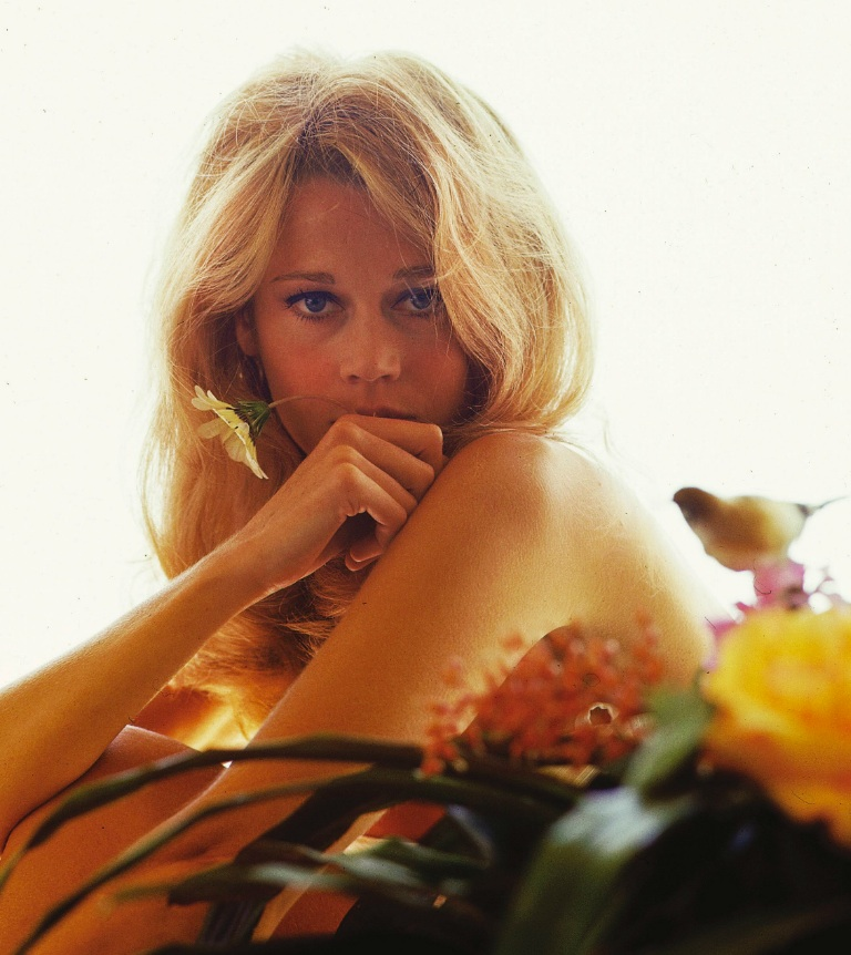 Jane Fonda pour Marie-Claire Milton H Greene