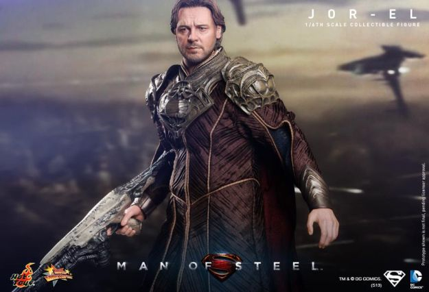 Jor-El Russell Crowe - Man of Steel - Hot Toys