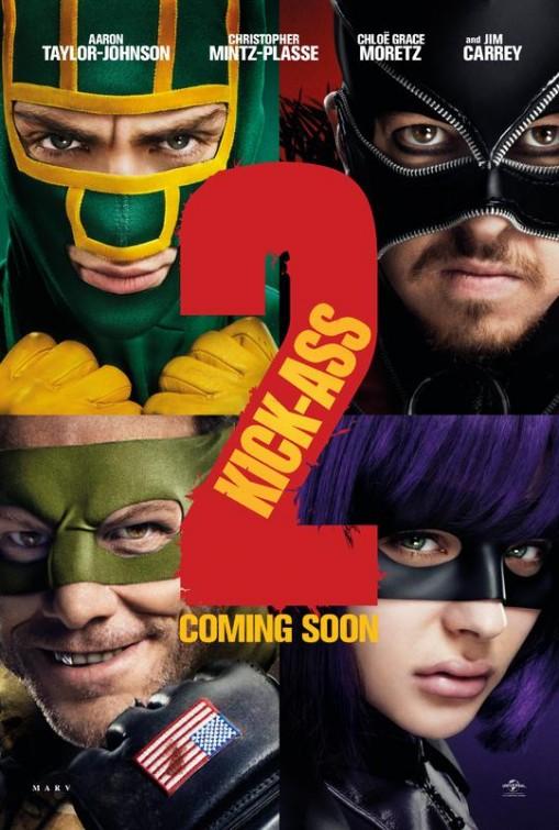 Kick Ass 2 affiche