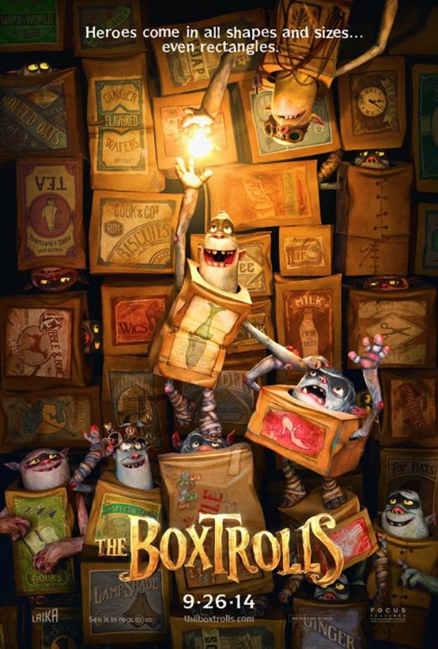 The BoxTrolls affiche