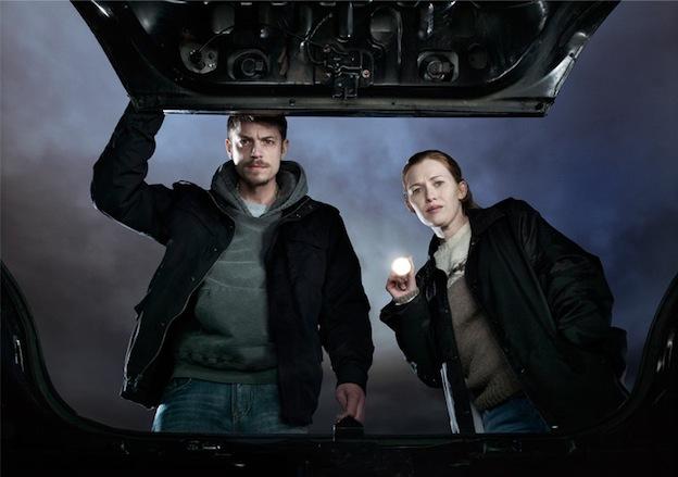 The Kiliing - Stephen Holder (Joel Kinnaman) et Sarah Linden (Mireille Enos) / Photo Frank Ockenfels/AMC