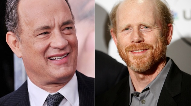 Tom Hanks et Ron Howard