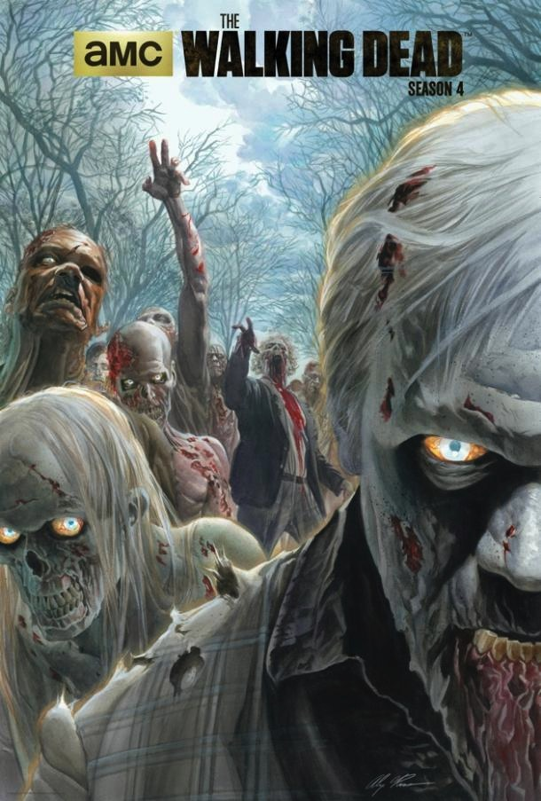 Walking dead saison 4 poster Alex Ross