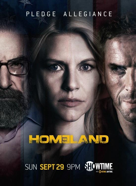 Homeland saison 3 poster