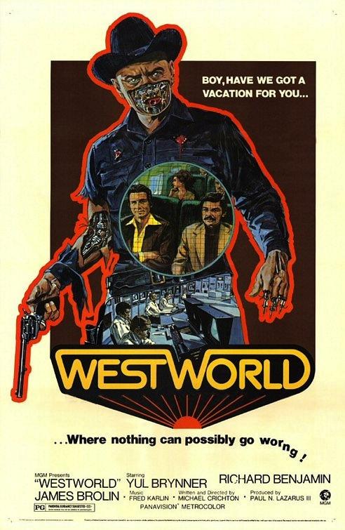 Westworld- Mondwest poster