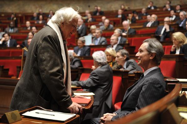 Bertrand Tavernier & Thierry Lhermitte - © Etienne George : Pathe Distribution