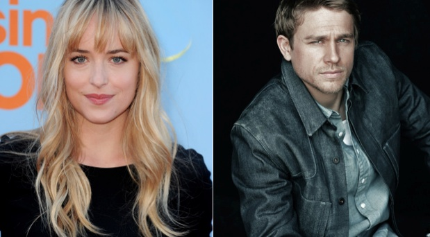Dakota Johnson Charlie Hunnam