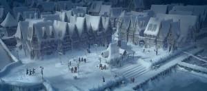 La Reine des Neiges Frozen Disney - Village