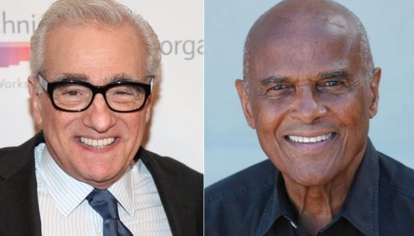 Martin Scorsese et Harry Belafonte