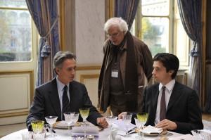 Thierry Lhermite, Bertrand Tavernier & Raphael Personnaz - © Etienne George : Pathe Distribution