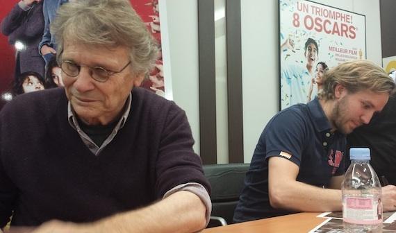 Daniel Pennac et Nicolas Bary Au Bonheur des Ogres