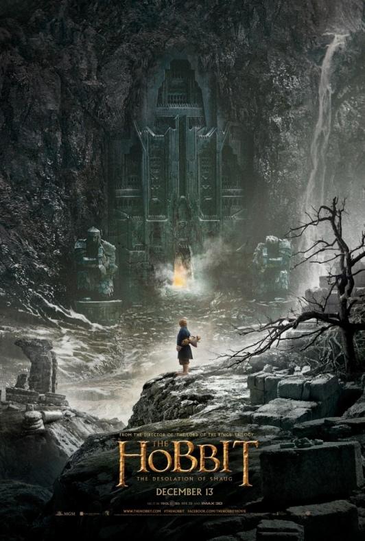 The Hobbit la desolation de Smaug affiche