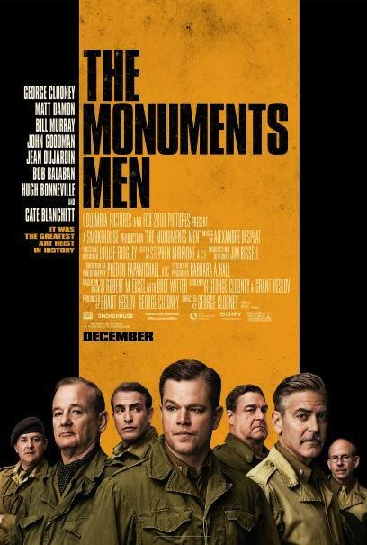 The Monuments Men affiche