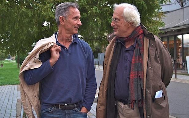 Thierry Lhermite et Bertrand Tavernier pour Quai d'Orsay