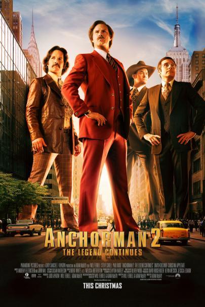 Anchorman 2 affiche