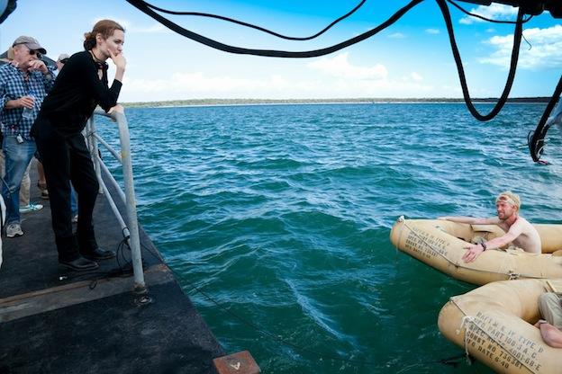 Photo de tournage Unbroken d'Angelina - NBC Universal