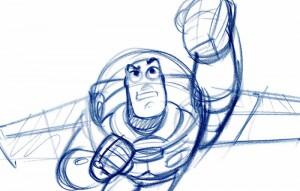 Dessins Pixar Animation Art Ludique-Buzz l'eclair