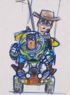 Dessins Pixar Animation Art Ludique-Toy Story