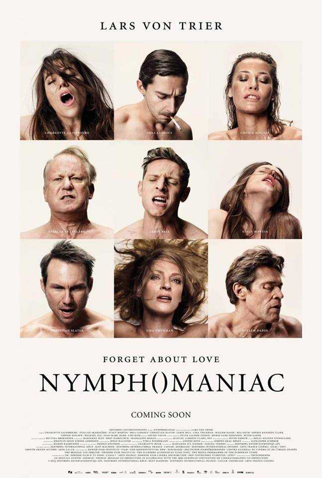 Nymphomaniac affiche