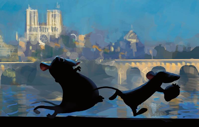Pixar 25 ans d'animation Art Ludique-Ratatouille