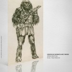concept art Chewbacca-star wars identities