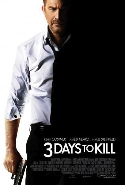 3 Days to Kill affiche