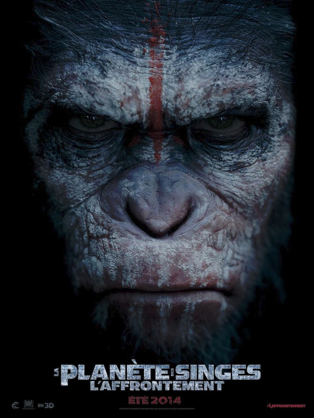 Dawn of the planet of the apes affiche