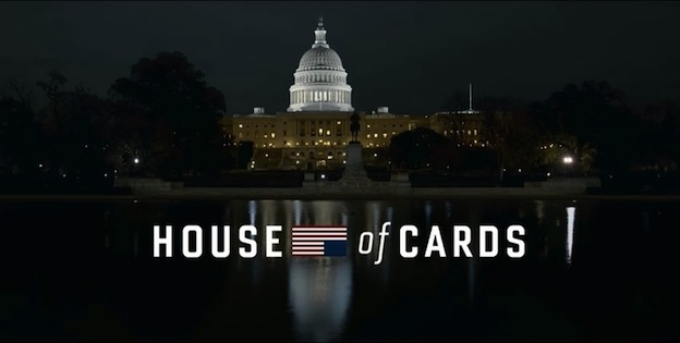 House of Cards Maison Blanche