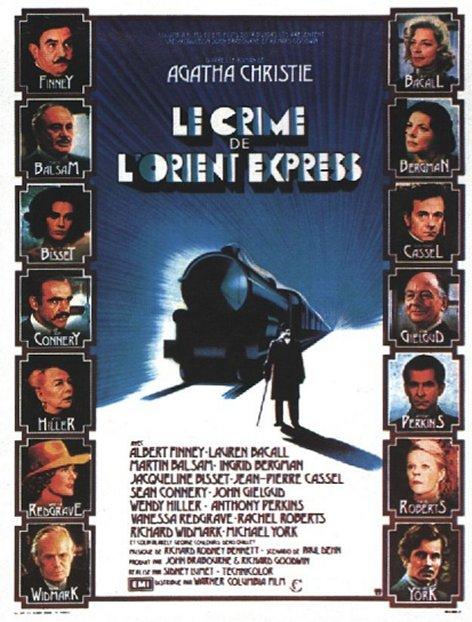Le Crime de l'Orient Express affiche