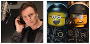La Grande Aventure Lego Liam Neeson Bad Cop-Good Cop