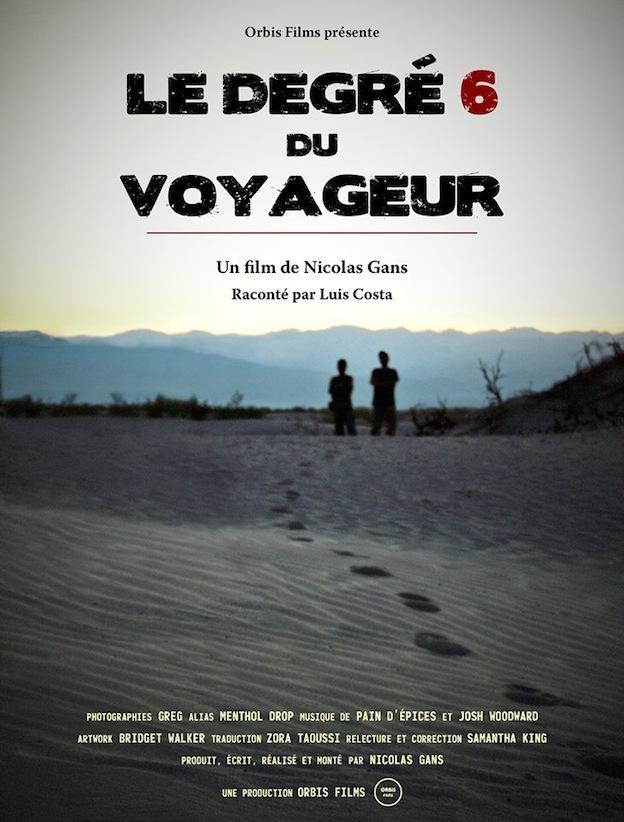 Le Degre 6 du Voyageur affiche