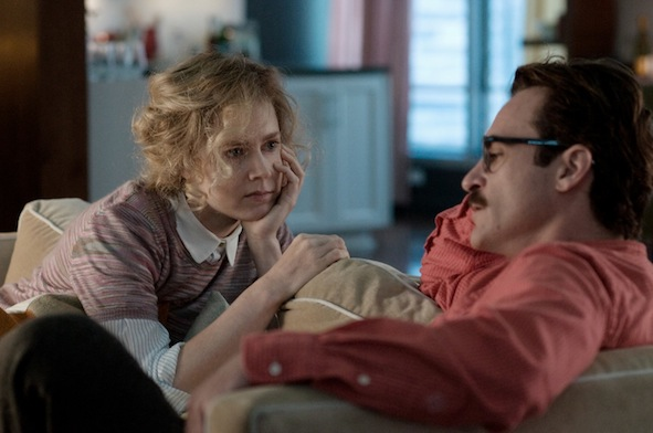 Joaquin Phoenix et Amy Adams - Her de Spike Jonze / © Warner Bros