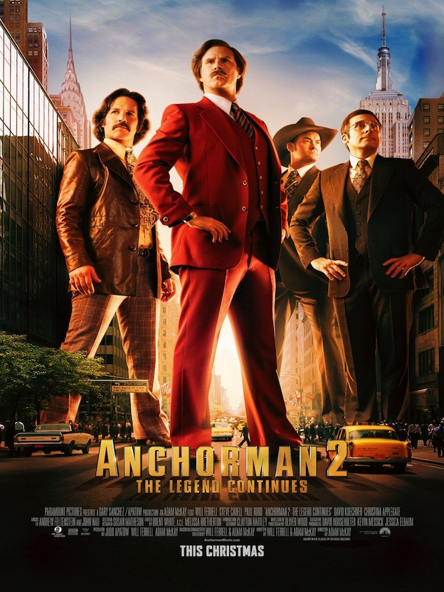 Anchorman 2 affiche