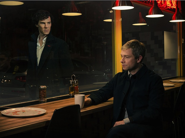Benedict Cumberbatch et Martin Freeman - Sherlock