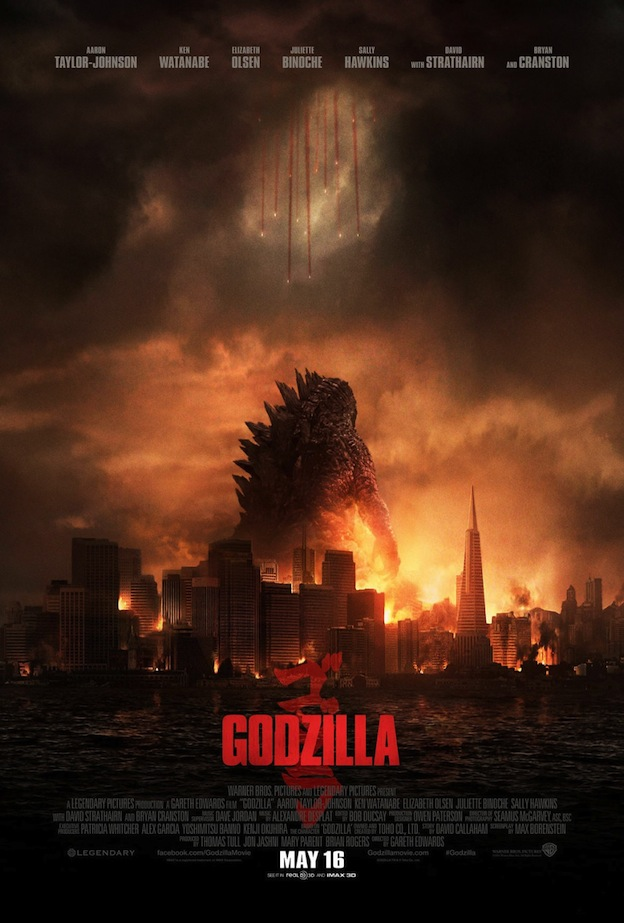 Godzilla affiche