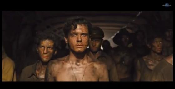 Jack O'Connell dans Invincible (Unbroken) de Angelina Jolie