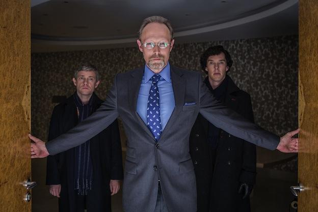 Lars Mikkelsen Benedict Cumberbatch Martin Freeman Sherlock