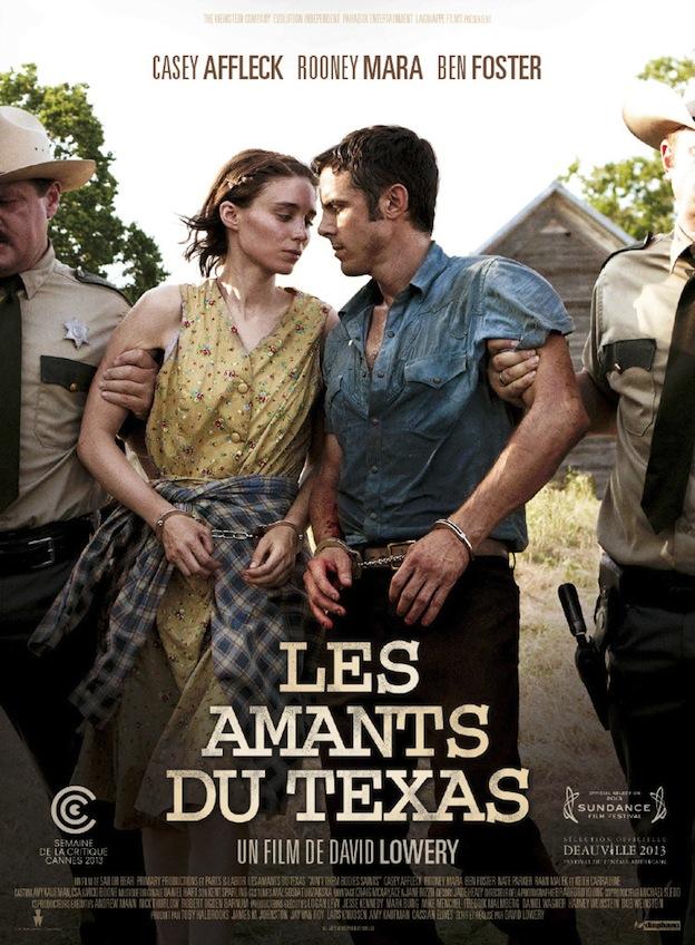 Les Amants du Texas affiche