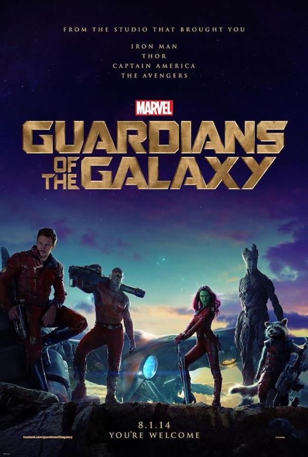 Les Gardiens de la Galaxie affiche